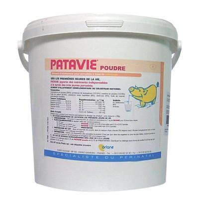 Patavie 5kg Ferkelmilch mit lebenswichtigen Schutzstoffen aus Kolostrum