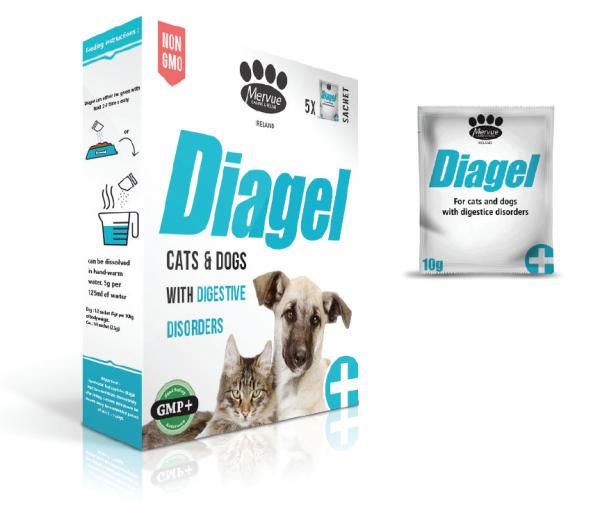 Diagel - 10g Durchfall bei Hund und Katze vermeiden - Vimionline