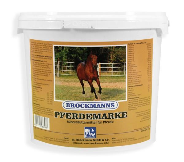 Brockmanns Pferdemarke 5kg zur optimalen Mineralfutterergänzung