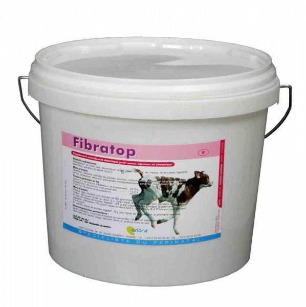 Fibratop 5kg Hilfe bei Kälbern mit Durchfall, wird sehr gut aufgenommen, sehr geringe Dosierung